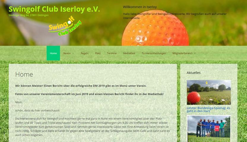 Swingolf Club Iserloy e.V.