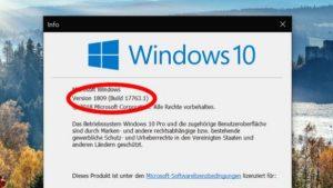 Windows 10 update für Ahlen